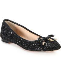 Kate Spade | Willa Glitter Ballet Flats | Lyst