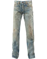 Prps Noir Distressed Slim Fit Jean - Lyst