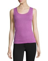 Lafayette 148 New York Knit Sleeveless Tank Top - Lyst