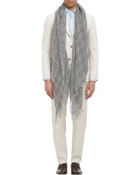 Colombo Check Scarf - Lyst