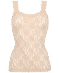 Hanky Panky Lace Camisole Tank Top - Lyst