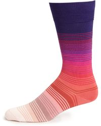 Paul Smith Graduated Stripes Socks multicolor - Lyst