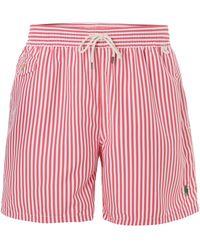 Polo Ralph Lauren Butcher Stripe Swim Short - Lyst