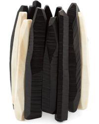 Monies - Carved Shard Cuff - Lyst