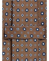 E. Marinella - Floral Print Silk Tie - Lyst