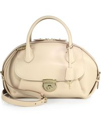 Ferragamo | Medium Fiamma Satchel | Lyst