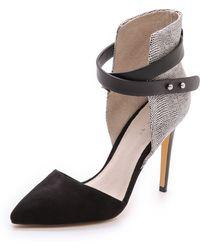 Joe's Jeans - Laney Suede Dorsay Court Shoes - Lyst