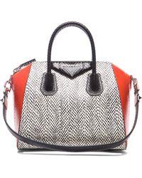 Givenchy Small Colorblock Elaphe Antigona - Lyst