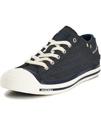 Diesel Exposure Low Plimsolls - Lyst