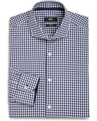 Boss by Hugo Boss Slim-Fit Gingham Dress Shirt - Lyst