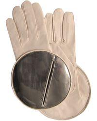 Thomasine Gloves | Madrid Glove Circular Mirror Wrist Cream | Lyst