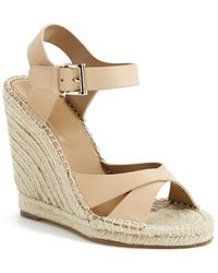 Joie 'Lena' Leather Wedge Sandal - Lyst