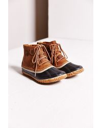 Sorel Out N About Leather Boot - Lyst