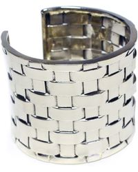 Anndra Neen Thatched Cuff - Lyst