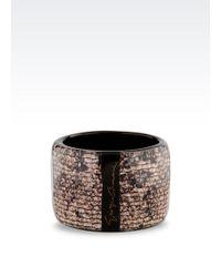 Giorgio Armani Resin Bracelet - Lyst