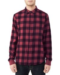 Alternative Apparel - Expedition Flannel Shirt - Lyst