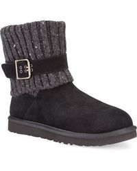 Ugg Cambridge Suede Boots - Lyst
