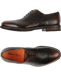 Santoni | Lace-up Shoes | Lyst
