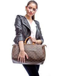 Louis Vuitton Preowned Monogram Speedy 40 Bag - Lyst