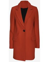 Exclusive For Intermix - Tailored Coat Red - Lyst