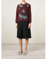 Burberry Brit - Flower Print Sweatshirt - Lyst