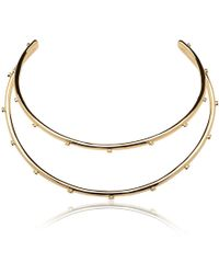 Jennifer Fisher - Double Organic Stud Choker - Lyst