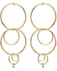 Jennifer Fisher - Xl Multi Hoop Earrings - Lyst