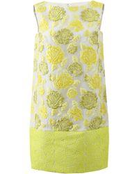 Giambattista Valli Floral Shift Dress - Lyst