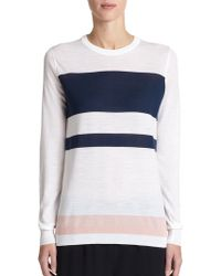 Proenza Schouler Colorblock Wool Sweater - Lyst