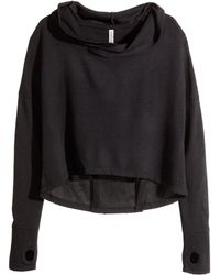 H&M Short Hooded Top - Lyst