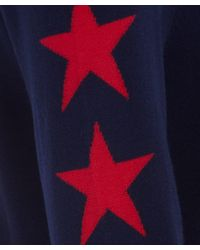 Equipment - Navy Rei Star Sleeve Jumper - Lyst