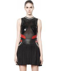 Alexander Wang Pleated Sneaker Dress - Lyst