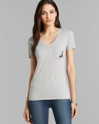 Umano - Tee - The Classico Scoop Neck With The George - Lyst