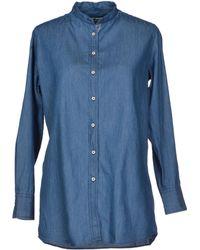 Bevilacqua - Denim Shirt - Lyst