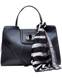 Love Moschino Scarf Work Tote Bag - Lyst