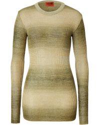 Missoni Color Fade Knit Pullover - Lyst