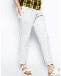 Bellfield - Boyfriend Jeans with Rips - Lyst