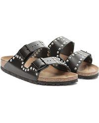 Birkenstock Arizona Studded Sandal black - Lyst