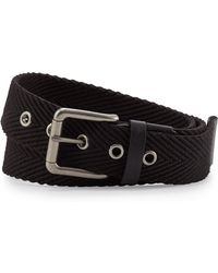 Will Leather Goods - Woven Web Belt - Lyst