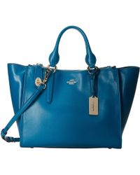 Coach Smooth Leather Crosby Carryall - Lyst