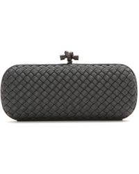 Bottega Veneta Knot Box Clutch - Lyst