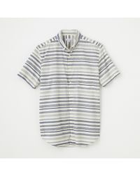 Steven Alan Short Sleeve Single Needle Shirt - Lyst