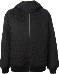 Stella McCartney Quilted Oversize Coat - Lyst