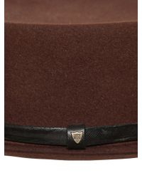 HTC Hollywood Trading Company - Lapin Pork Pie Hat - Lyst