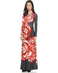 Clover Canyon Spanish Rose Maxi Dress - Multi - Lyst