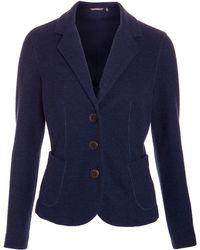 Sandwich - Textured Jersey Jacket - Lyst