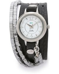 La Mer Collections - Highline Chrome Stones Watch - Lyst
