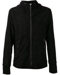 Giorgio Brato Black Zip Jacket - Lyst