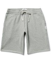 Steven Alan - Loopback Cotton-jersey Shorts - Lyst