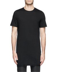 DRKSHDW by Rick Owens Long Jersey T-shirt - Lyst